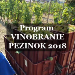 Program vinobrania Pezinok